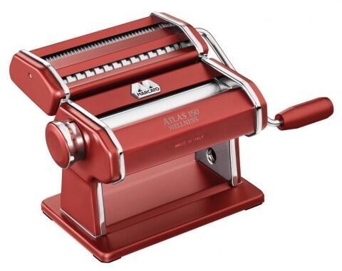 Marcato Nudelmaschine Atlas 150 in rot