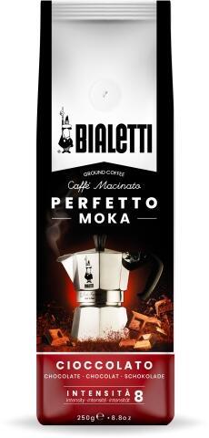 Bialetti gemahlener Kaffee Perfetto Moka Cioccolato 250g