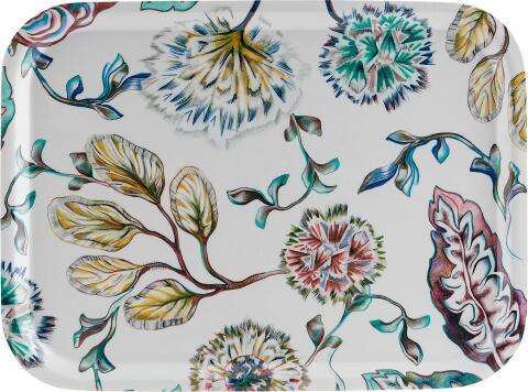 Åry Trays Tablett In Bloom rechteckig