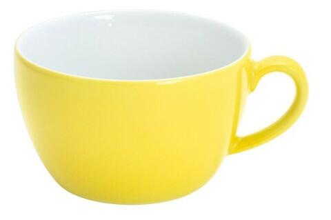Kahla Pronto Cappuccino-Obertasse 0,25 l in zitronengelb