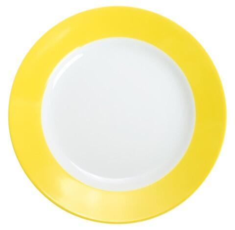 Kahla Pronto Frühstücksteller 20,5 cm in zitronengelb