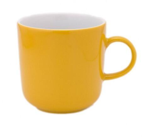 Kahla Pronto Kaffeebecher 0,30 l in orange-gelb