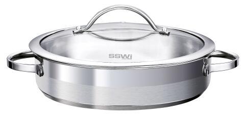 SSW Servierpfanne Pulpo