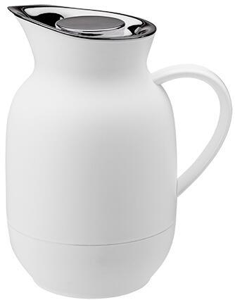 Stelton Isolierkanne Kaffee Amphora in soft white