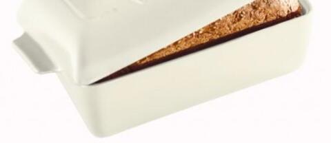Emile Henry Ersatzform für Kasten-Brotbackform in creme