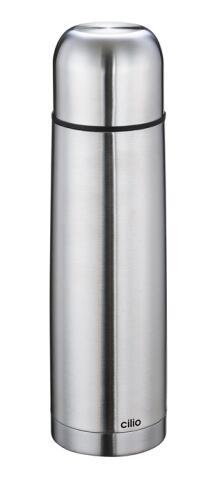 Cilio Isolierflasche Edelstahl 0,75 Liter