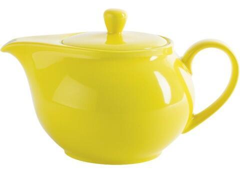 Kahla Pronto Teekanne 1,30 l in zitronengelb
