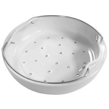 Einsatzkorb Porzellan für Schnellkochtöpfe von Silit (22 cm)