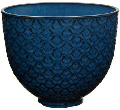 KitchenAid Keramikschüssel in blue mermaid lace, 4,7 L