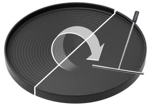 Stöckli Grill-/Crepeplatte einzeln für Marroniofen