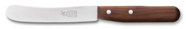 Frühstücksmesser Buckelsklinge von Windmühlenmesser Pflaumenholz (rostfrei)