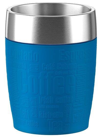 Emsa Isolier-Trinkbecher Travel Cup in wasserblau