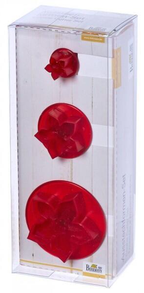 Birkmann Ausstechformen-Set Iris, 3-teilig