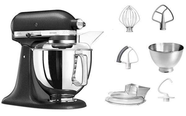 KitchenAid Küchenmaschine ARTISAN 175PS in gusseisen schwarz, 4,8 L