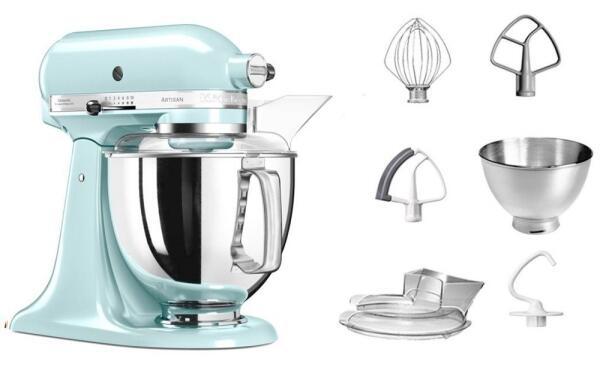 KitchenAid Küchenmaschine ARTISAN 175PS in eisblau, 4,8 L