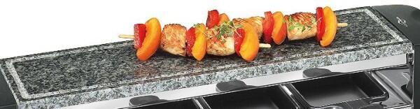 Küchenprofi Ersatz-Grillplatte für Raclette Quattro