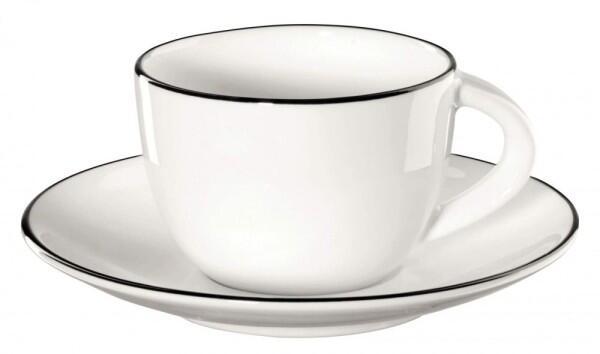 ASA Espressotasse mit Untertasse á Table Ligne Noire