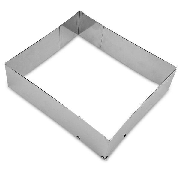 Städter Backrahmen Moos 25–50 x 22–41 cm / H 7 cm verstellbar