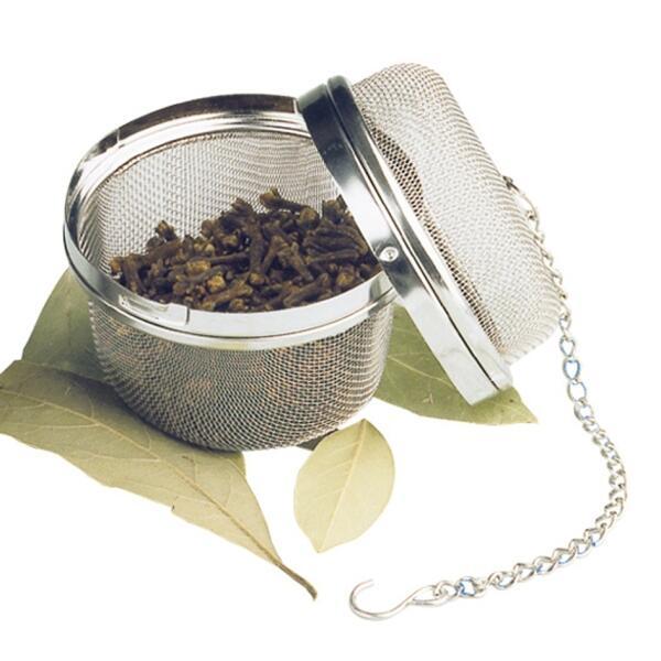 Städter Küchenhelfer Tee- und Gewürzkugel Ø 6,5 cm mit Kette