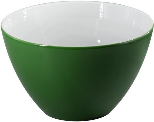 Eschenbach Porzellan Schüssel/Müsli 13,5 cm in dunkelgrün
