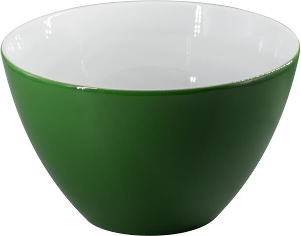 Eschenbach Porzellan Schüssel 21 cm in dunkelgrün