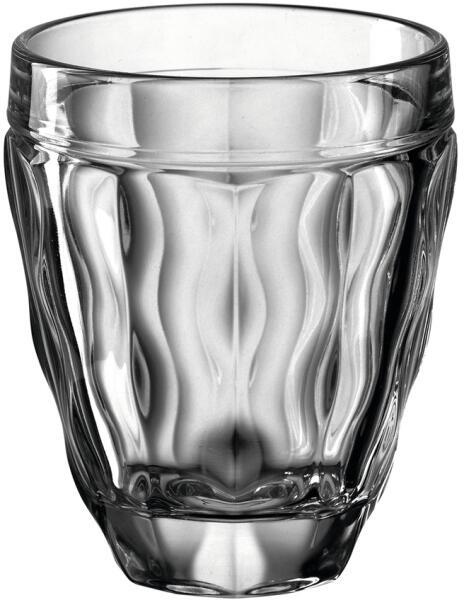 Leonardo Trinkglas BRINDISI 270 ml anthrazit, 6er-Set