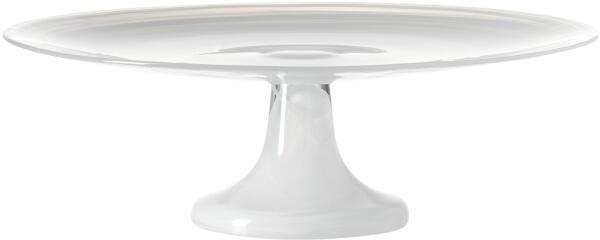 Leonardo Platte ALABASTRO 31 cm weiß