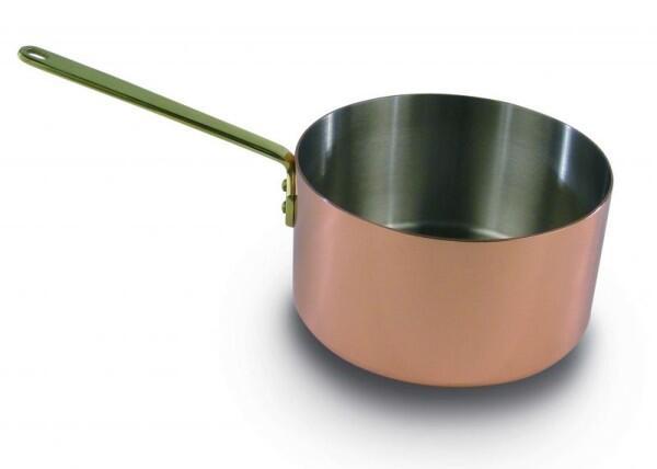 Stielkasserolle aus der Kupfermanufaktur Weyersberg