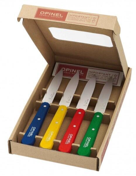 Opinel Küchenmesser-Set Klassische Officemesser, 4-teilig