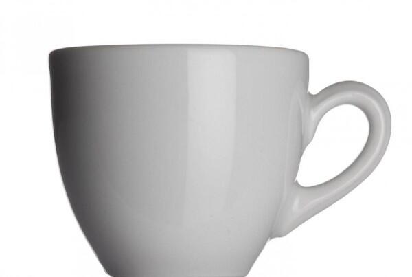 Classic Espressotasse von Porzellanfabrik Walküre, weiß