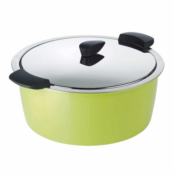 Kuhn Rikon Hotpan Gourmettopf in grün, 4,5 L