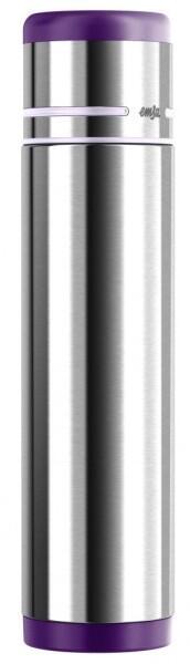 Emsa Isolierflasche Mobility Edelstahl/Brombeer