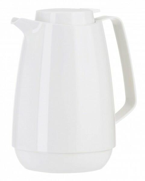Emsa Momento Coffee Isolierkanne, weiß, 1,0 L