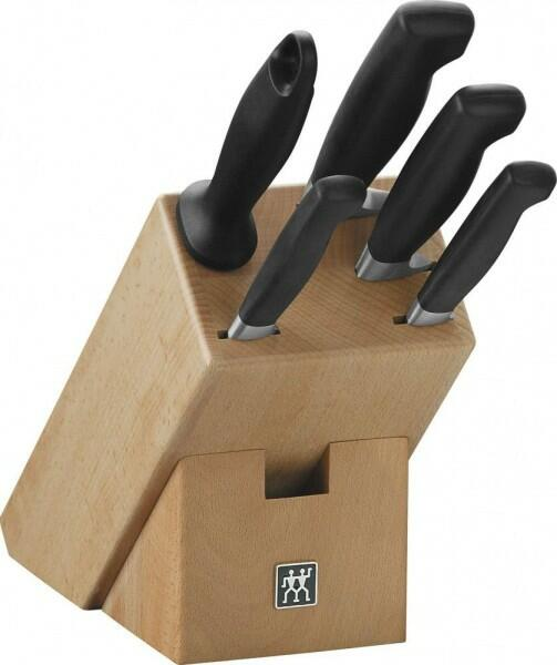 Zwilling Messerblock Vier Sterne, 6 Teile