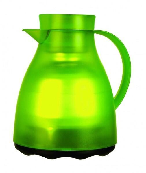 Emsa Isolierkanne Easy Clean in hellgrün transluzent
