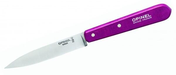 Opinel Küchenmesser, Set mit 4 Messern, verschiedene Farben