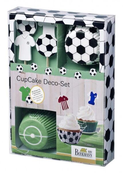 Birkmann CupCake Deco-Set Kick it, 40-teilig