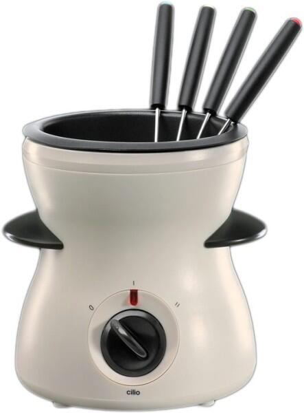 Cilio Schokoladen-Fondue-Set elektrisch