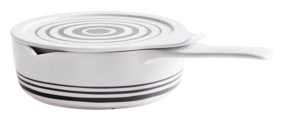 Eschenbach Kasserolle mit Deckel Cook & Serve in stripes