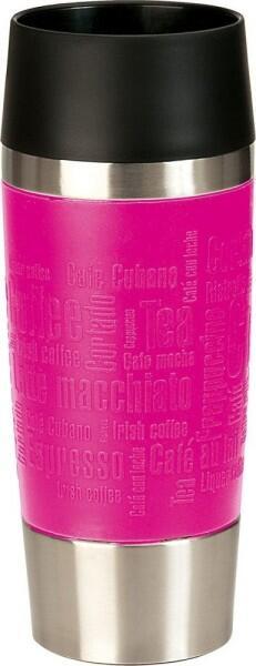 Emsa Isolier-Trinkbecher mit Manschette Travel Mug in pink