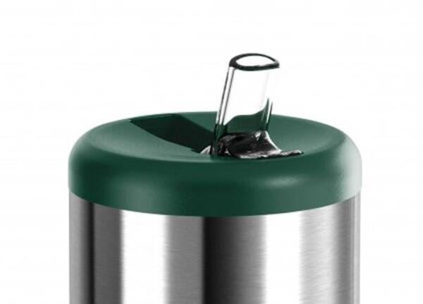 Emsa Ersatzkappe m. Trinkhalm für Emsa Isolierflasche Mobility Grün