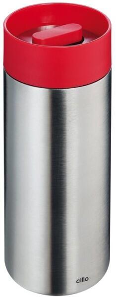 Cilio Isolierflasche Perfetta in rot