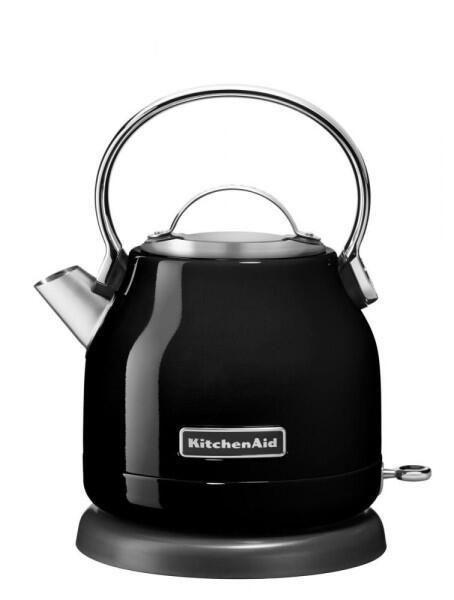 KitchenAid Wasserkocher in onyx schwarz, 1,25 L