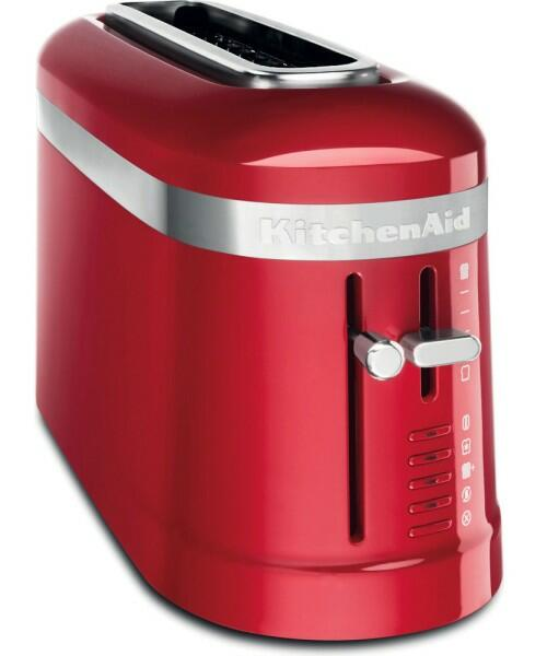 KitchenAid Design 2-Scheiben Langschlitztoaster in empire rot