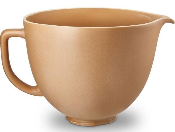 KitchenAid Keramikschüssel in fired clay, 4,7 Liter