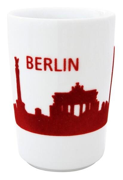 Kahla Five Senses touch! Maxi-Becher Berlin in rot