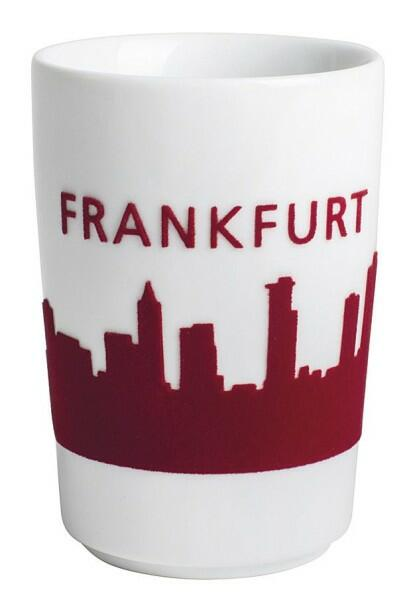 Kahla Five Senses touch! Maxi-Becher Frankfurt in rot