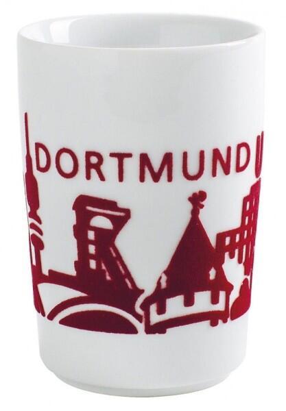Kahla Five Senses touch! Maxi-Becher Dortmund in rot
