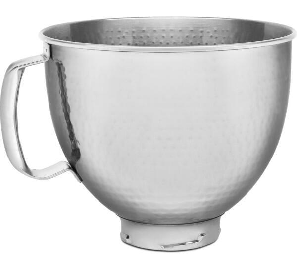 KitchenAid Edelstahlschüssel gehämmert 4,8 l