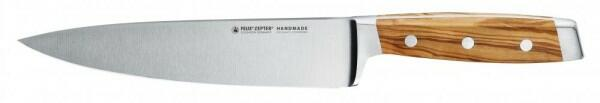 Felix Zepter Kochmesser First Class Wood mit Fingerschutz, 21 cm